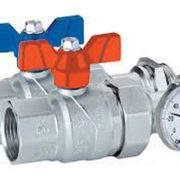 120-4 Kit llaves de corte con termometros