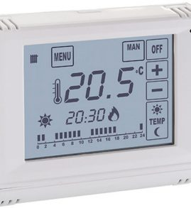 128-1 Termostato Touch Screen