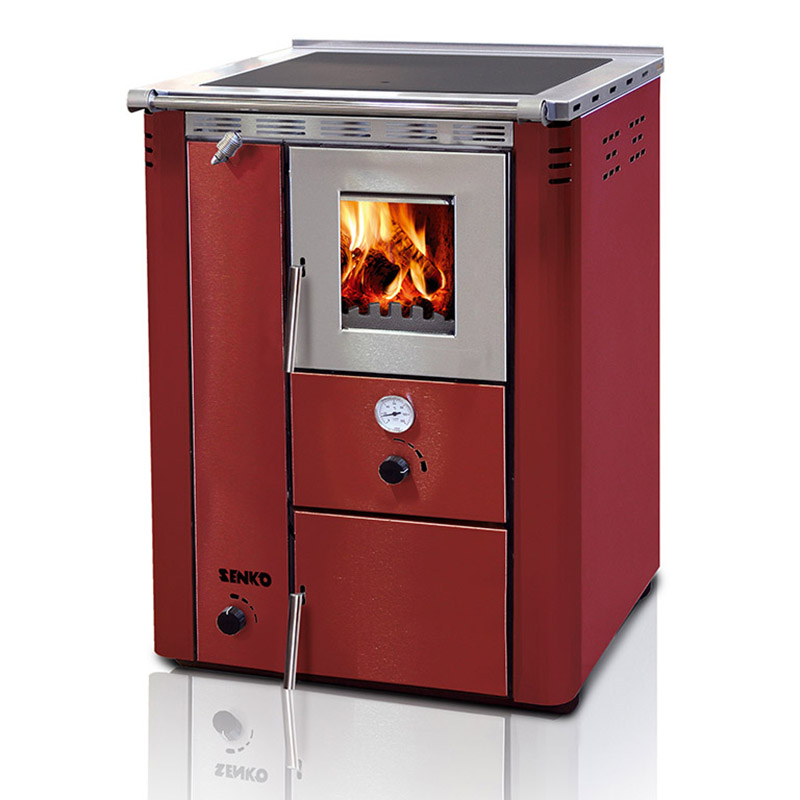 Cocina de le a calefactora sin horno c20 c30 for Cocina lena calefactora