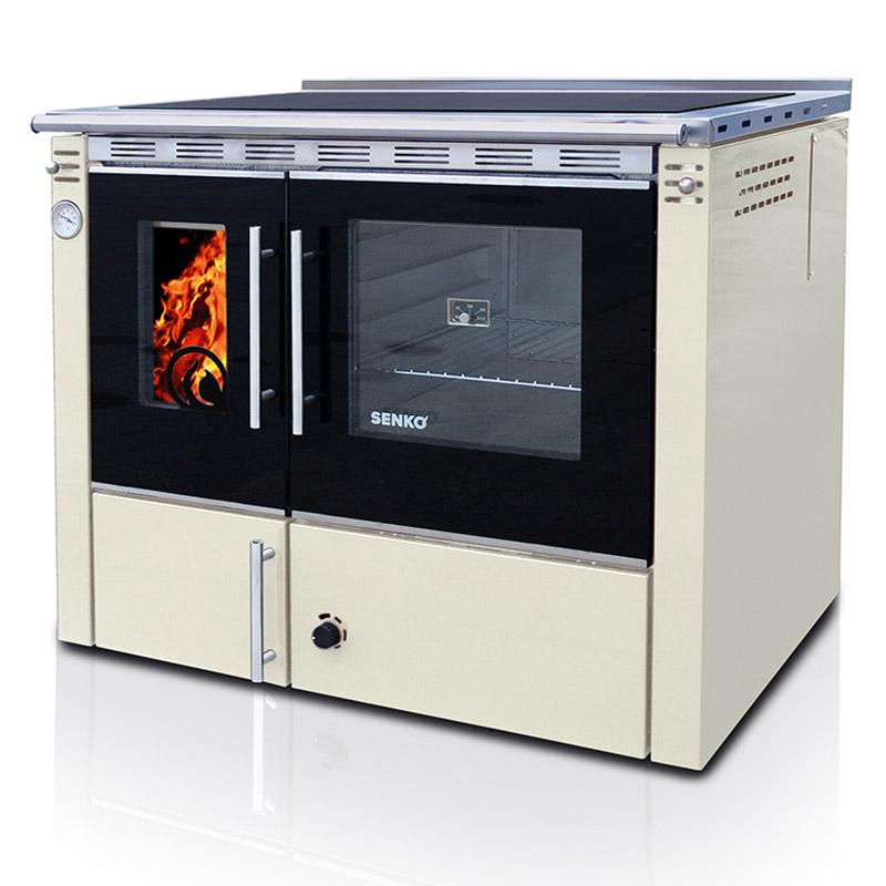 Cocina de le a calefactora con horno premium line - Cocinas con horno de lena ...