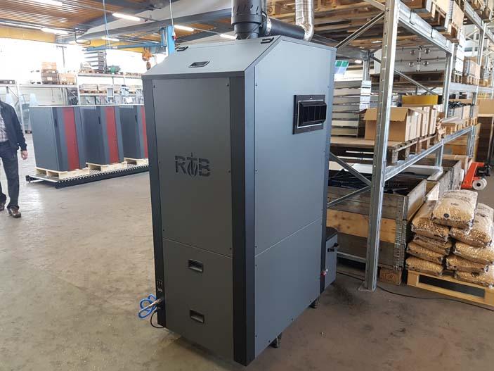 5- Nuevo Generador de aire caliente