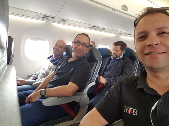 1 vuelo Madrid-Alborg