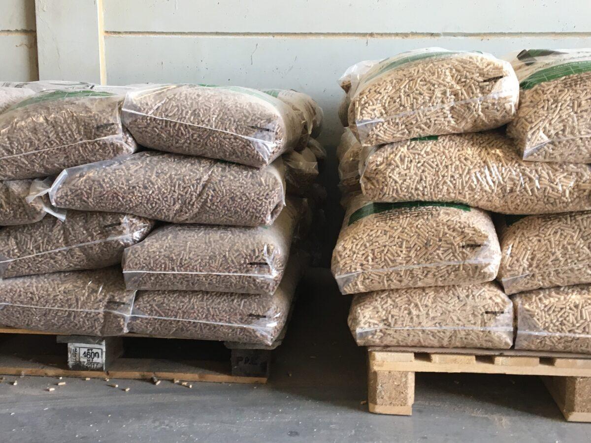 fabricación de pellet